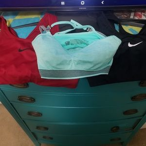 Victoria secret and nike sports bras